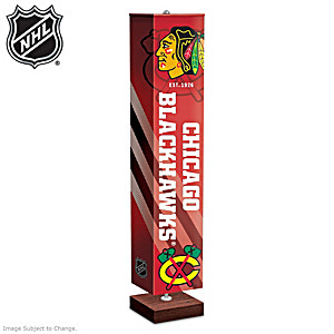 Chicago Blackhawks® Four-Sided Floor Lamp