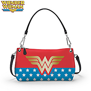 DC Comics Wonder Woman Convertible Handbag: Wear It 3 Ways
