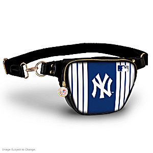 New York Yankees Hands-Free Purse With Team Logo Charm