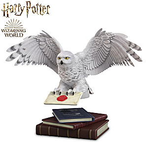 HARRY POTTER HEDWIG Levitating Sculpture