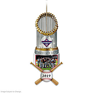 Nationals 2019 World Series Champions Christmas Ornament