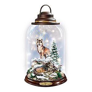 "Al Agnew ""Spirit Of Winter"" Illuminated Lantern"