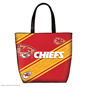 Kansas City Chiefs Tote Bag With Team Logo