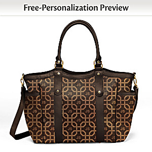 """""""Just My Style"""" Tote Bag Personalized With Your Initials"""