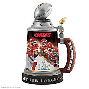 Chiefs Super Bowl LIV Champions Commemorative Stein