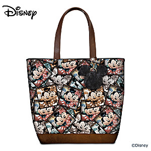 "Mickey Mouse & Minnie Mouse ""Capture The Moment"" Tote Bag"