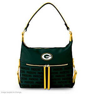 Green Bay Packers Hobo-Style Handbag