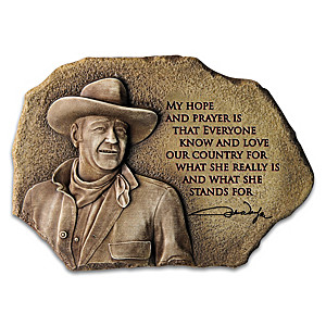 """My Hope & Prayer"" Wall Decor Featuring A John Wayne Quote"