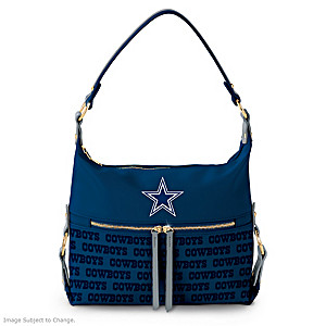 Dallas Cowboys Hobo-Style Handbag