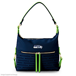 Seattle Seahawks Hobo-Style Handbag