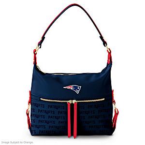 New England Patriots Hobo-Style Handbag