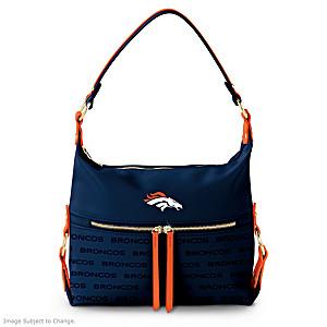 Denver Broncos Hobo-Style Handbag