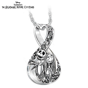 The Nightmare Before Christmas Infinity Pendant Necklace