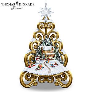 """Traditions Of The Season"" Illuminated Musical Tree"