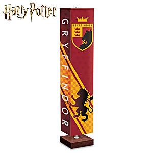 HOGWARTS GRYFFINDOR House Floor Lamp With Art On All 4 Sides