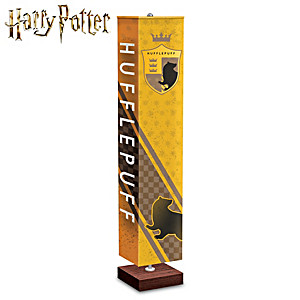 HOGWARTS HUFFLEPUFF House Floor Lamp With Art On All 4-Sides