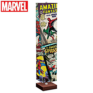 MARVEL The Amazing Spider-Man Floor Lamp With Wraparound Art