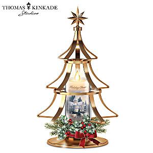 Thomas Kinkade Holiday Cheer Illuminated LED Candle Tree