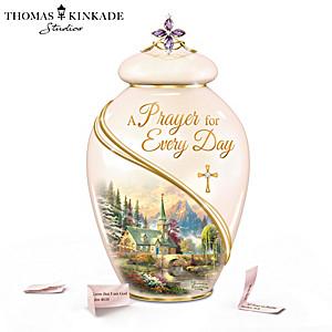 "Thomas Kinkade ""A Prayer For Every Day"" Musical Prayer Jar"