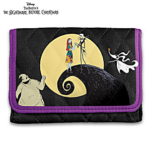 The Nightmare Before Christmas RFID Blocking Tri-Fold Wallet