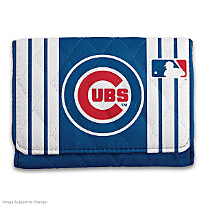 Chicago Cubs RFID Blocking Tri-Fold Wallet
