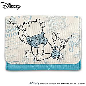 Disney Winnie The Pooh RFID Blocking Tri-Fold Wallet