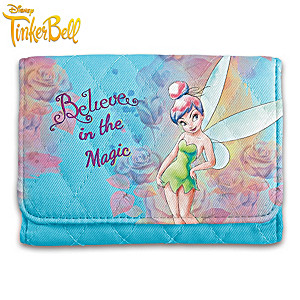 Disney Tinker Bell RFID Blocking Tri-Fold Wallet
