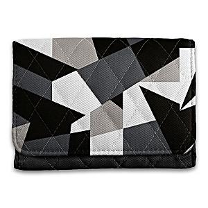 """Geometric Gem"" RFID Blocking Tri-Fold Wallet"