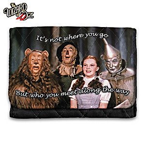THE WIZARD OF OZ RFID Blocking Tri-Fold Wallet