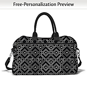 """""""Just My Style"""" Weekender Bag With Your Initials"""