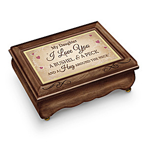 """Music Box For Daughter Plays """"A Bushel And A Peck"""""""