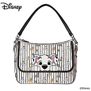 Dogs Of Disney Faux Leather Handbag