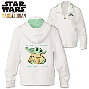 The Mandalorian The Child Women's Cotton-Blend Hoodie