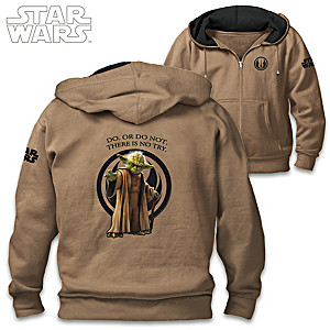 STAR WARS Yoda Men's Cotton-Blend Hoodie