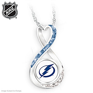 Lightning® 2020 Stanley Cup® Infinity Necklace