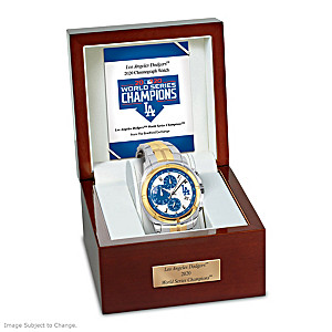 2020 World Series Champions Los Angeles Dodgers Men's Watch