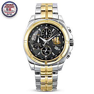 9/11 20th Anniversary Men's Chronograph Quartz Watch