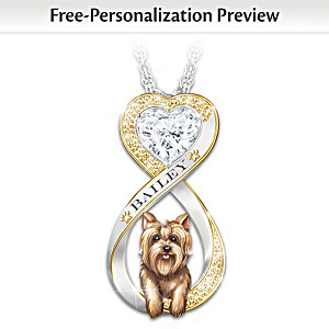 Personalized Dog Pendant Necklace: Choose Your Breed