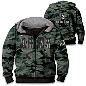 U.S Army Camo Men's Hoodie