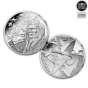 Battle Of Britain 80th Anniversary Fine Silver Piedfort Coin