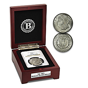 100th Anniversary Of The Last 1921 Morgan Silver Dollar Coin