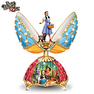 THE WIZARD OF OZ Peter Carl Faberge-Inspired Musical Egg