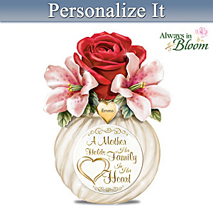 A Mother's Heart Personalized Table Centerpiece
