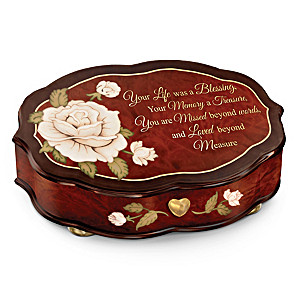 """""""Forever In My Heart"""" Swiss-Inspired Remembrance Music Box"""