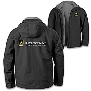 """U.S. Army Pride"" Men's 3-In-1 Convertible Jacket"