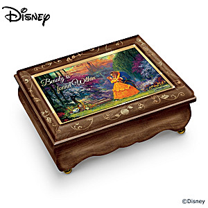 Beauty And The Beast Music Box With Art By James Coleman