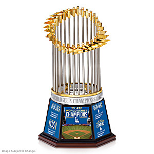 Dodgers 2020 World Series Champions Commemorative Trophy