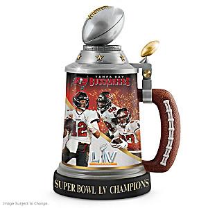 Buccaneers Super Bowl LV Champions Commemorative Stein