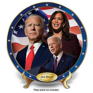 President Joe Biden Heirloom Porcelain Collector Plate