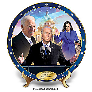 President Biden Inauguration Porcelain Collector Plate